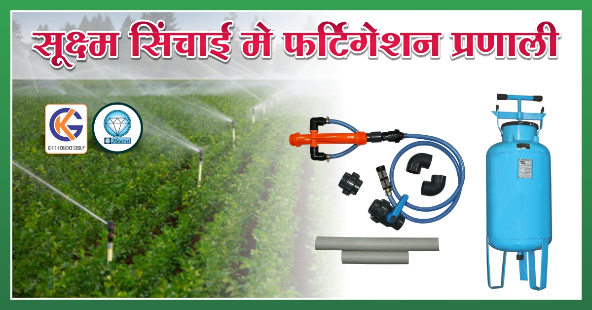 Fertigation system in micro irrigation