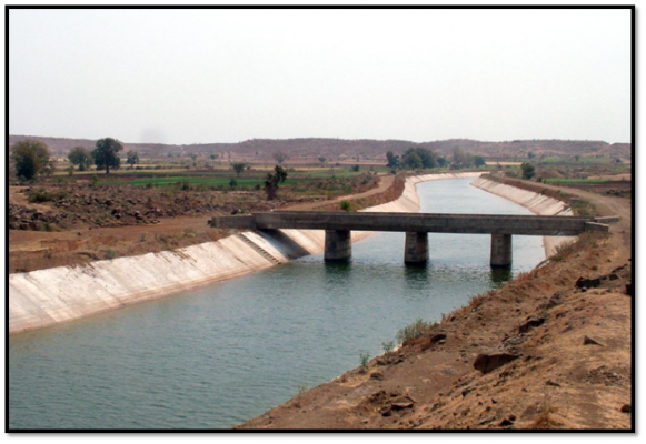 Irrigation System Canal