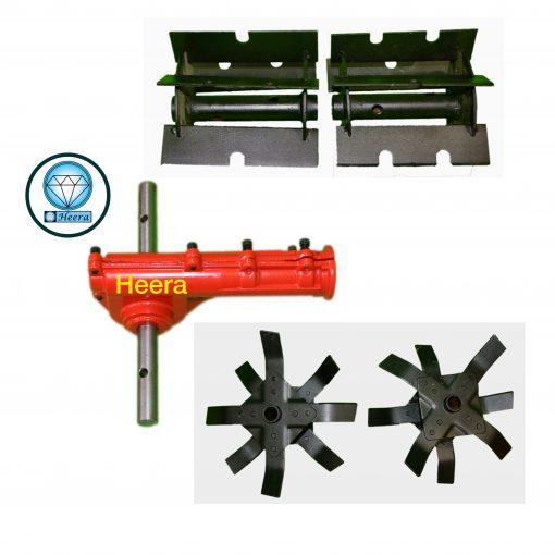 Heera Brush Cutter's Weeder Tiller Gearbox Combo